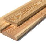 Fasádní obklad – hoblovaná prkna 20x90x2000-6000mm, kvalita EXTRA