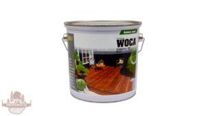 WOCA Exteriérový olej – Černý 2.5 l