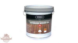 WOCA Exteriérový olej – Teak 2.5 l